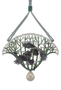"Ilgiz Fazylzyanov - ""Crows"" pendant - makes me think of GoT"