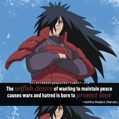 The source of Anime quotes & Manga quotes Madara And Hashirama, Itachi, Anime Qoutes, Manga Quotes, Naruto Shippuden Anime, Anime Naruto, Madara Wallpapers, Naruto Facts, Naruto Quotes