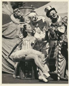 Felix Adler ,Paul Jerome ,Fifi and Lola CLOWNS circus vintage original Le Clown, Circus Clown, Creepy Clown, Circus Theme, Circus Birthday, Circus Party, Birthday Parties, Vintage Circus Photos, Vintage Clown
