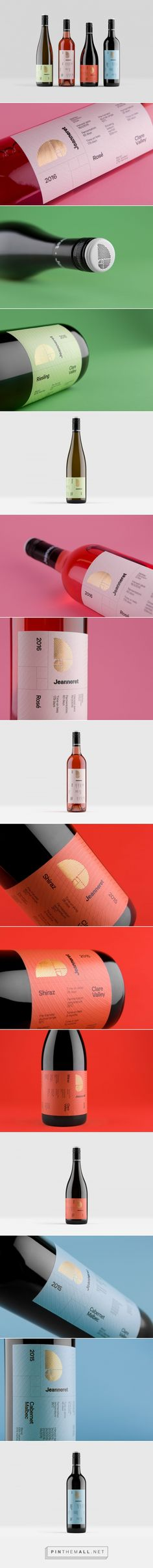 Jeanneret Wines - Packaging of the World - Creative Package Design Gallery - http://www.packagingoftheworld.com/2018/01/jeanneret-wines.html