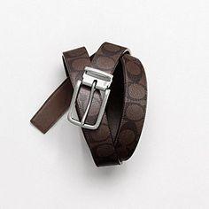 Shop Men's Designer Belts: Coach Belts for Men
