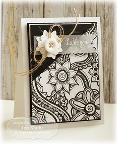 LOVEFEST2014C Thank You by deconstructingjen - Cards and Paper Crafts at Splitcoaststampers
