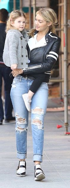 Gigi Hadid...love the jacket