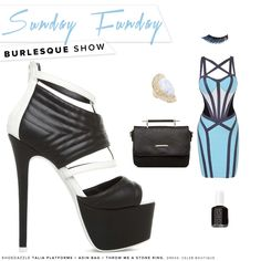 Shake what your mama gave ya! These platform peep-toes will steal the show. #ShoeDazzle