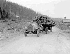 log truck history | History of the Colorado State Forest