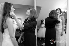 mother daughter moment ♥ #rickbouthiettephotography #nhweddings Castle in the Clouds | Moultonborough, New Hampshire #elegantwedding   #nhweddingphotographer