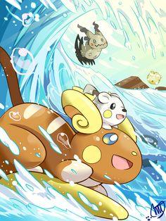 pre00.deviantart.net adc3 th pre i 2016 276 3 c pokemon_sun_and_moon___alolan_raichu_by_miyuu490-dajrwnv.jpg