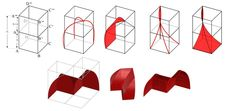 See figure: 'Figure 5. Modelling exercise of a muqarnas unit. ' from publication 'COMPUTATIONAL INTERPRETATIONS OF 2D MUQARNAS PROJECTIONS IN 3D FORM FINDING' on ResearchGate, the professional network for scientists.