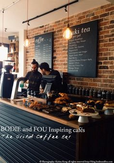 Inspiring Cafés by BODIE and FOU http://blog.bodieandfou.com/