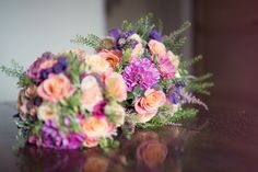 Hannah and James - bouquets
