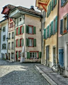 Aarau Switzerland Old Town, Finland, Croatia, Norway, Netherlands, Travel Inspiration, Cities, Greece, Beautiful Places