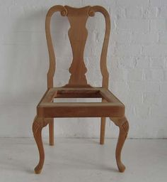 Queen Anne Pad Foot Dining Chair Dutch Connection