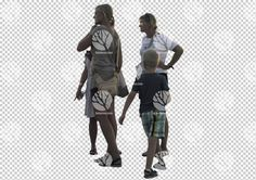 Two woman with kids cutout for 17.8.2016 by Gobotree