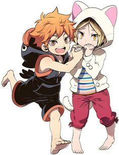 Hinata and Kenma // HQ