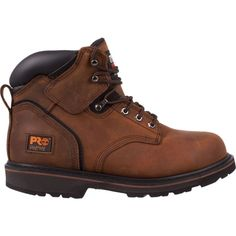 Timberland PRO Men's Pit Boss 6'' Steel Toe Work Boots, Size: 11.5, Brown