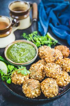 Sabudana Vada often known as Sago Vada is a deep fried Maharashtrian appetizer which makes for a very good evening snack or breakfast. Veg Recipes, Indian Food Recipes, Vegetarian Food List, Sabudana Vada, Appetizer Recipes, Appetizers, Maharashtrian Recipes, Paneer Tikka, Tea Time Snacks