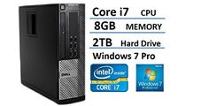 Introducing 2016 Dell Optiplex 790 Small Form Factor High Performance Desktop Computer Intel Core i72600 Processor 38GHz 8GB RAM 2TB HDD DVD Windows 7 Pro 64bit Certified Refurbished. Great product and follow us for more updates!