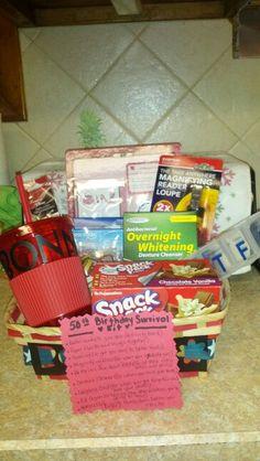 Purple Pizzazz 30th Birthday Survival Kit crafts Pinterest