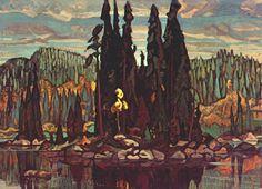 ArthurLismer-Isles-of-Spruce-1922