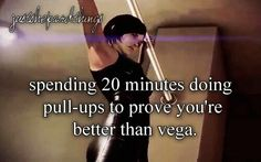 Mass Effect | Spending 20 minutes doing pull-ups to prove you're better than vega (JustShepardThings)