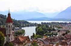 Watch: Thun - one of the most beautiful cities in Switzerland - Bernese Oberland Alps http://destinations-for-travelers.blogspot.com.br/2014/11/thun-suica-switzerland.html