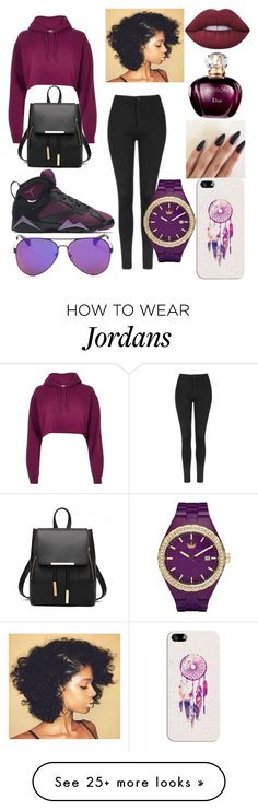 """"" by ashanti-sapphire on Polyvore featuring River Island, NIKE, Topshop, Lime Crime, adidas and Casetify"
