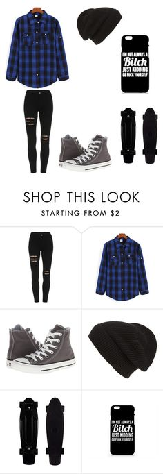 """Untitled #61"" by darksoul7 on Polyvore featuring Converse and Phase 3"