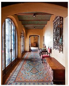 Spanish Style Homes Decor Ideas Spanish Style Homes Decor Ideas. When you want to decorate your home in a Spanish style, you will have a lot of fun. The Spanish style is very interesting with vibra… Spanish Style Homes, Spanish House, Spanish Colonial, Spanish Revival, Spanish Tile, Style At Home, Home Interior, Interior Decorating, Halls
