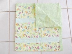 Owl Baby Blanket Woodland Baby Blanket by TakeTwoBabyQuilts, $28.50