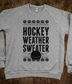 Hockey Weather Sweater