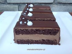 Czech Desserts, Desserts To Make, Dessert Recipes, Slovak Recipes, Czech Recipes, Oreo Cupcakes, Cupcake Cakes, Baked Brie Appetizer, Food Tags