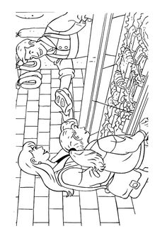 Occupations - 999 Coloring Pages People Coloring Pages, Preschool Coloring Pages, Kids Learning Activities, Food Coloring, Christmas Crafts, Kindergarten, Creative, Tour, Restaurant