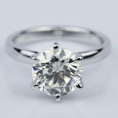 A beautiful Six-Prong 2.15 Carat Round Solitaire Engagement Ring!