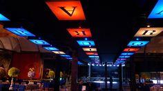 Sob o Céu dos Painéis Soholeds !!! #locação #módulos led #controleremoto #receptivo #decorativo #portátil #iluminado !!!
