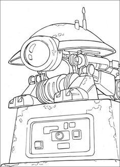 Coloriage Dessins. Dessins à imprimer et la couleur en ligne. Star Wars 1