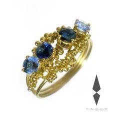Atria Gold 18kt sapphires