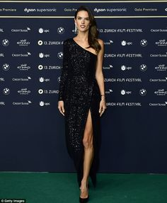 Alessandra Ambrosio sizzles at Zurich Film Festival | Daily Mail Online
