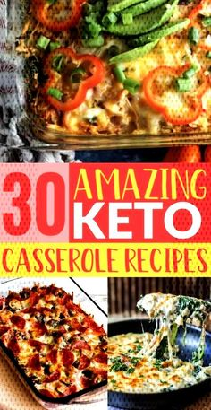 These easy keto casserole recipes are the best and great for weight loss! You are going love these yummy low carb ketogenic casserole dinner recipes, you'll feel so full and satisfied all while losing weight! Ketogenic Diet Meal Plan, Ketogenic Diet For Beginners, Ketogenic Recipes, Diet Recipes, Healthy Recipes, Keto Meal, Dessert Recipes, Diet Menu, Breakfast Recipes