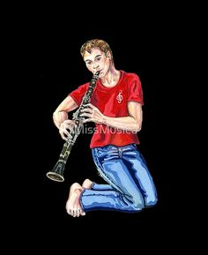 Star Clarinet Player