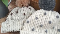 Crochet Club: Ladies Bobbly Bobble Hats on the LoveCrochet blog
