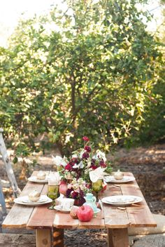 perfect summertime dinner party
