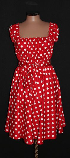 50s RockaBilly swinG Polka Dots DresS Pin Up marmalademoon, $49.99