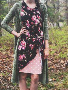 Love this combo for fall! #fallfashion #lularoe #stylinghacks