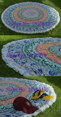 Indian Tapestry Mandala Wall Hanging Hippie Bed sheet Dorm Tapestry (100% Premium Quality) Perfect gift For Home/Office Decor. $34.5