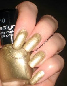 Gold-Plate - Hand-some Girls: Misslyn Hot Glam - Satin Metal Gold-Plate & Copper Rose