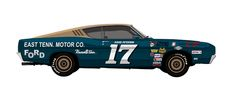 I don't actually like muscle cars, but I love race decals. They take me back to when I was a kid making scale models.