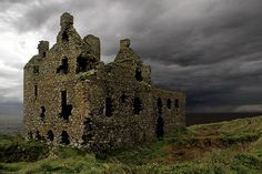 Dunskey castle scotland, One of the many ruins in and around Scotland