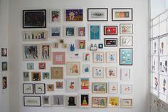 Galería Mar Dulce, especializada en arte de pequeño formato e ilustración, otro de sus recomendados para descubrir arte emergente.