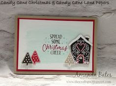 The Craft Spa - Stampin' Up! UK independent demonstrator : Candy Cane Christmas & Candy Cane Lane