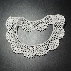 Guler din Dantelă 1 · HAV-A.ro Crochet Necklace, Jewelry, Fashion, Moda, Jewlery, Jewerly, Fashion Styles, Schmuck, Jewels